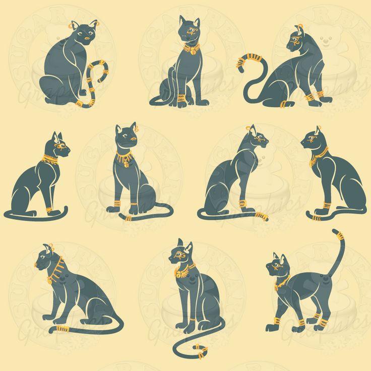 Egyptian Cat Gods.