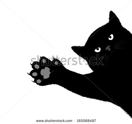 Cat Claws Stock Images, Royalty.