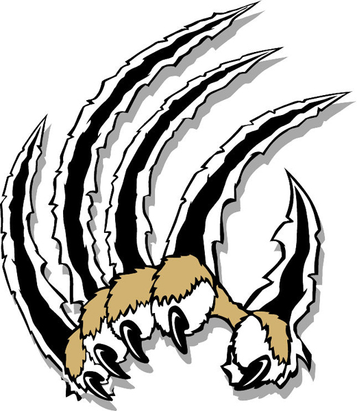Cat Scratch Claw Clipart.