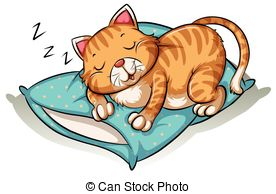 Cat nap Clipart Vector Graphics. 92 Cat nap EPS clip art vector.