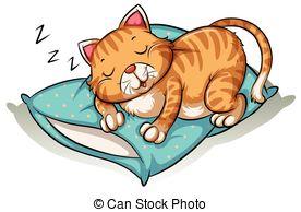 Cat nap Clipart Vector Graphics. 92 Cat nap EPS clip art vector.