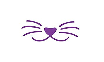 Amazon.com: kiskistonite Cute Cat Face Decal, Cat Whiskers.