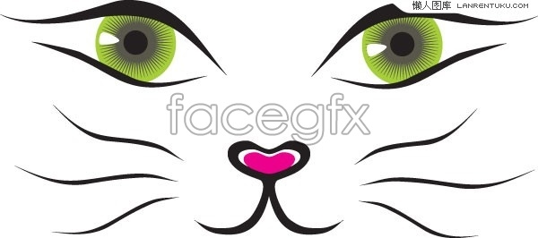 Cat Nose Clipart.