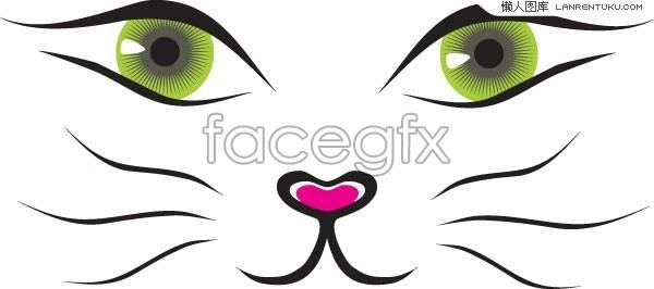 Cat Nose Clipart.
