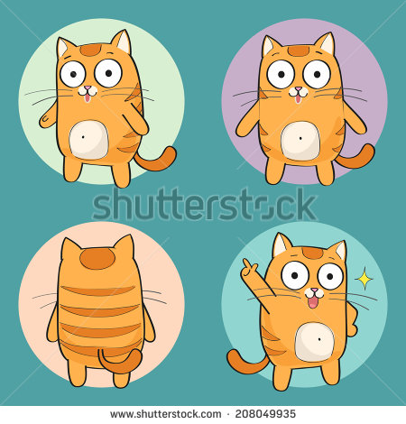 Cat Back Stock Photos, Royalty.