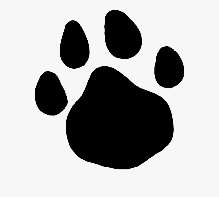Cat Paw Prints Clip Art Dog Print Png Library Stock.