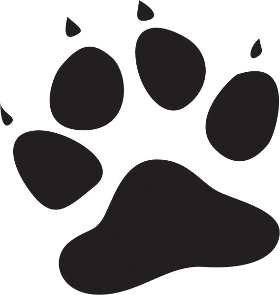 Free Cat Paw Print, Download Free Clip Art, Free Clip Art on Clipart.