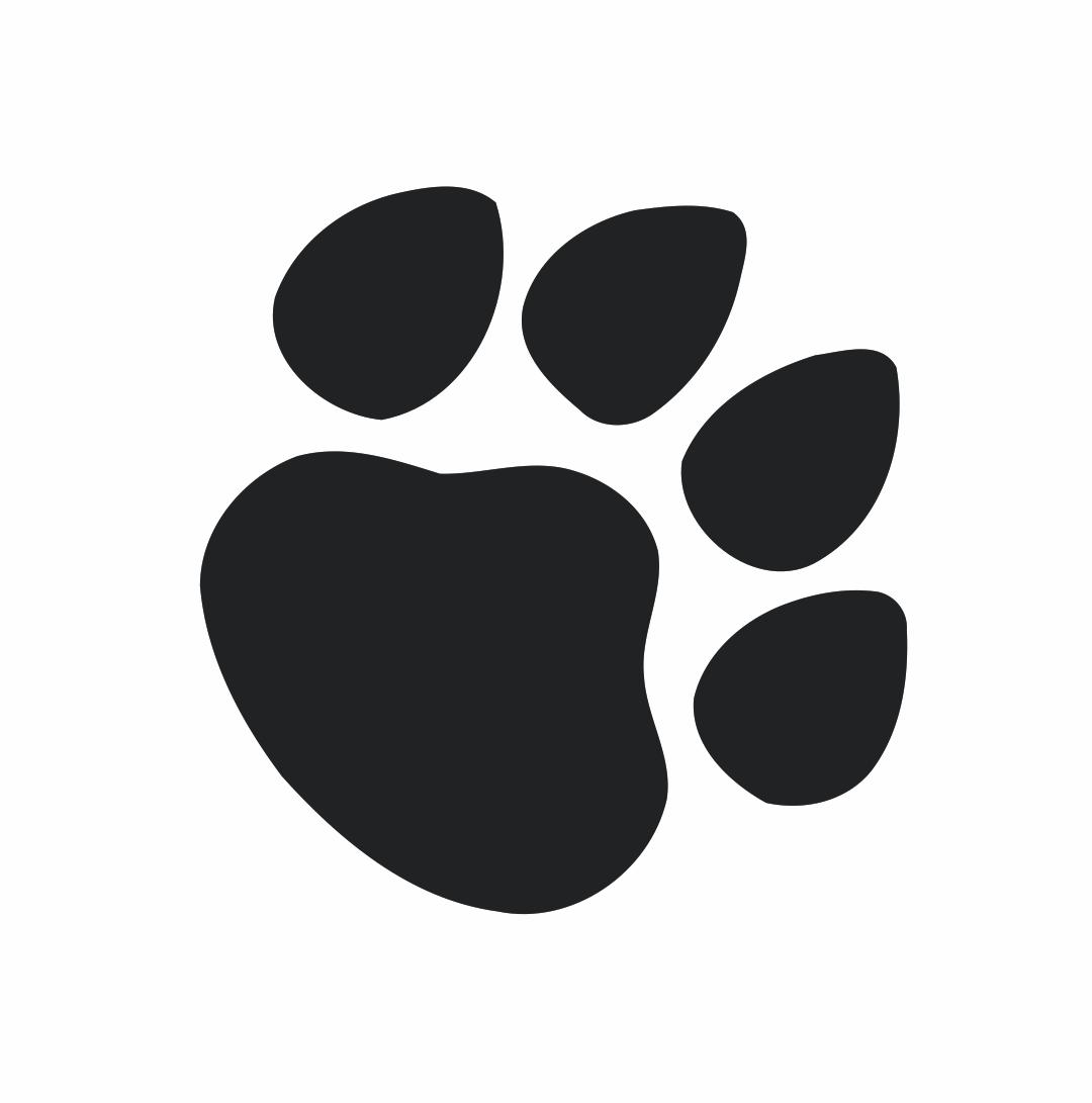 Cat Paw Prints Clip Art At Clker Com Vector Clip Art.