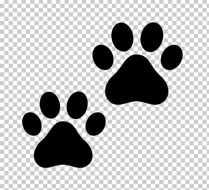 Cat Paw Dog PNG, Clipart, Animals, Black, Black And White, Cat, Cat.
