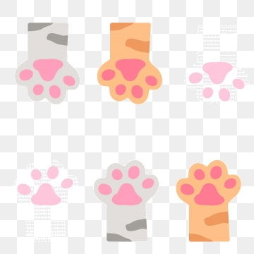 Cats Paw PNG Images.