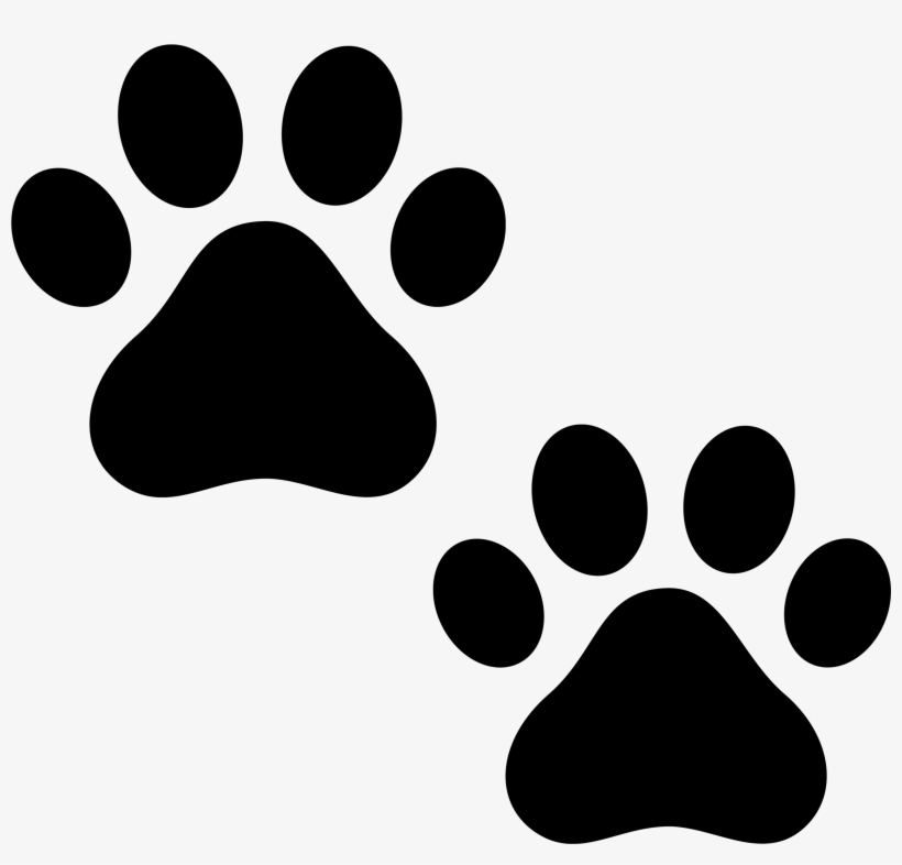 Clipart Cat Paws Clipartall.