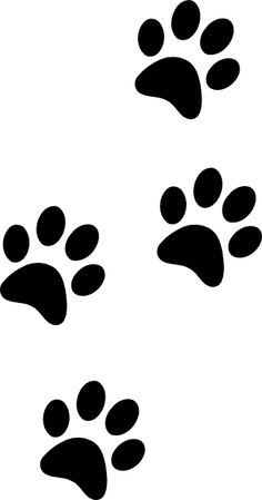 25 Best Paw print clip art images in 2017.