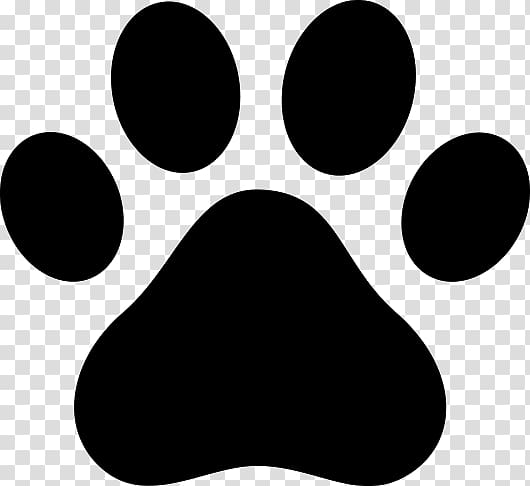 Dog Cat Paw Puppy , black paw prints transparent background PNG.
