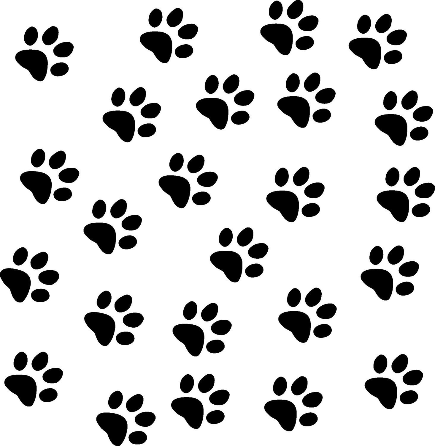 Picture Of Cat Paw Print.