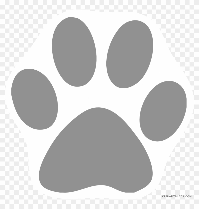 Cat Paw Print Clipart.