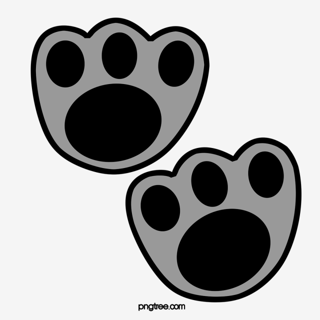 Neat Cat Prints, Cat Clipart, Cat's Paw, Cat PNG Image and Clipart.