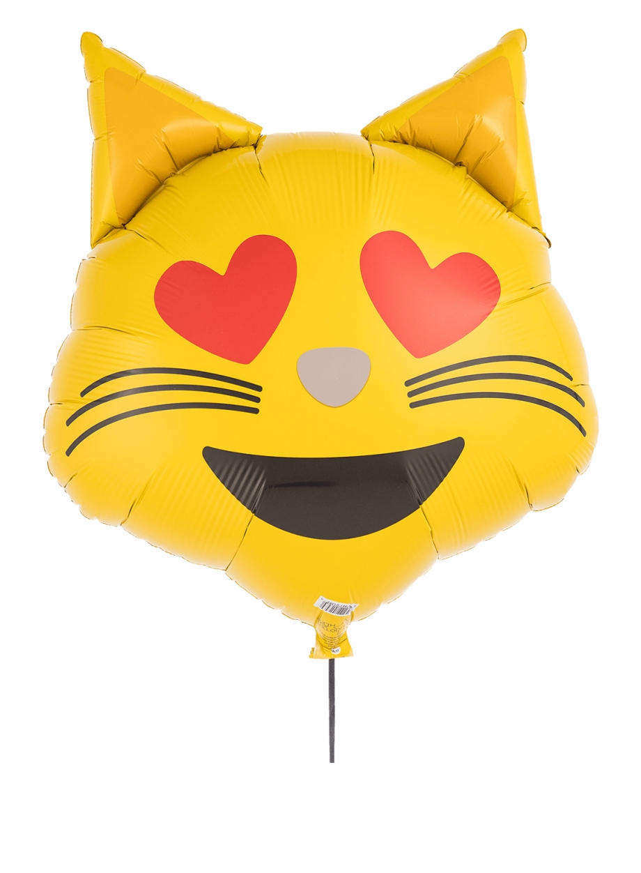 Emoji Cat Heart Eyes.