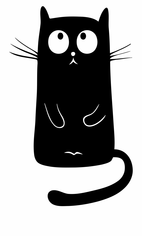 Black Cat Png.
