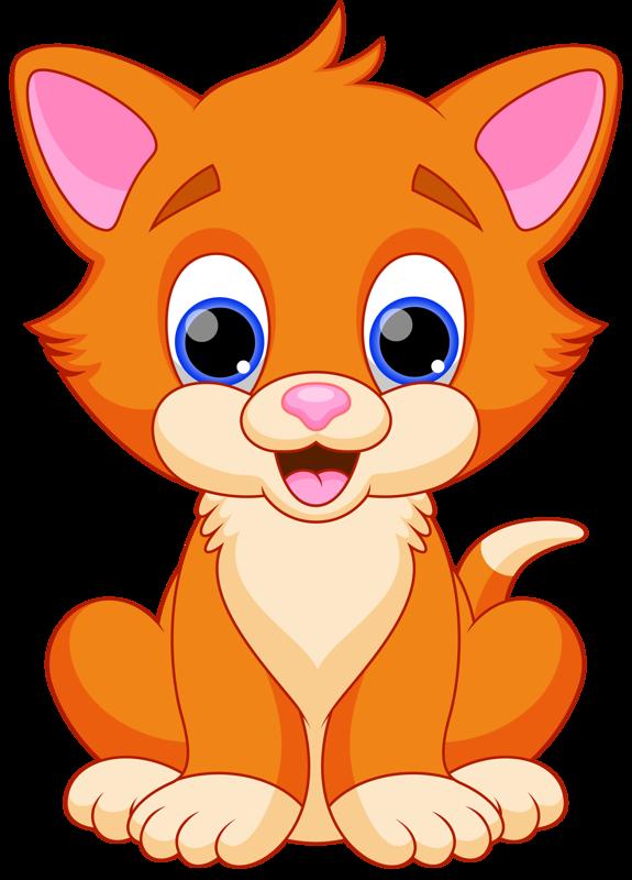 Cat Png Cartoon Kitty Cut Clipart.