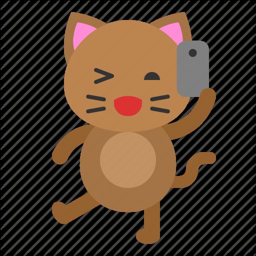 'Cat avatar (flat)' by Arana Graphics.