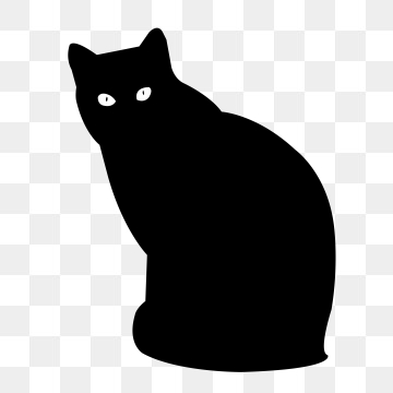 Cat Silhouette Png, Vector, PSD, and Clipart With Transparent.