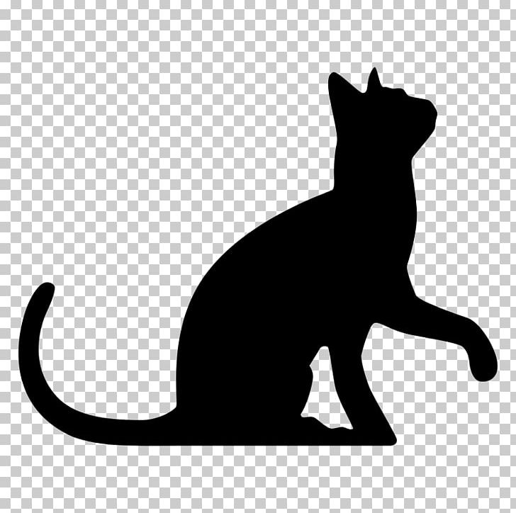 Sphynx Cat Silhouette Kitten PNG, Clipart, Animals, Black, Black And.