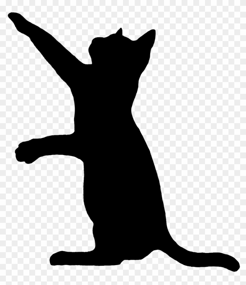 Catty Silhouette Art Crafthubs.