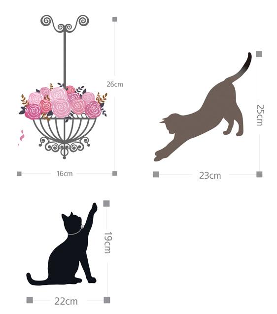 Urban & Modern : Cats Playing Around Stair.