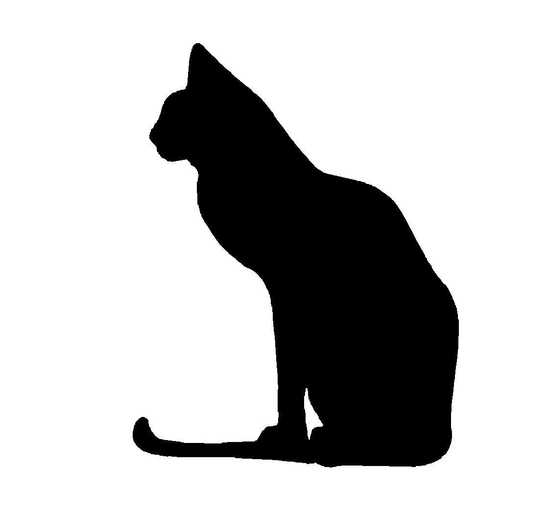 Silhouette Cat.