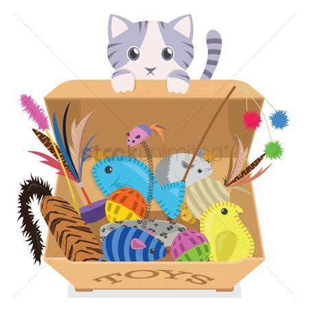 Cat toy clipart 6 » Clipart Station.
