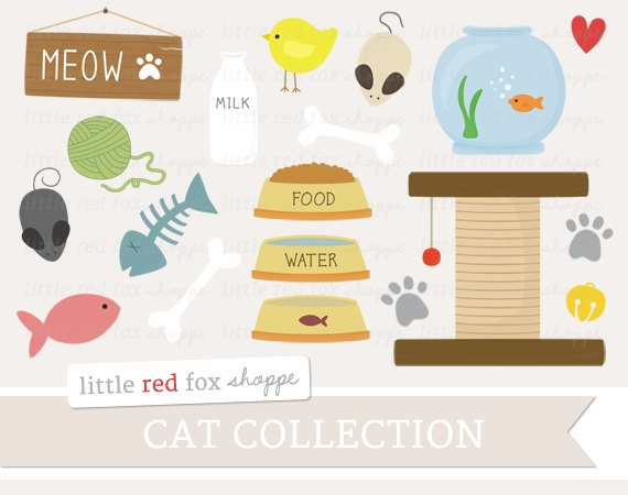 Pet Toy Cliparts.