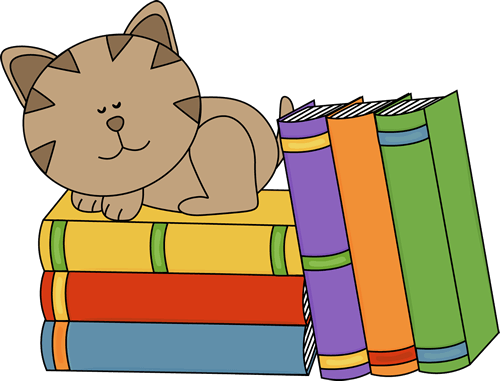 Dog and cat clip art png book