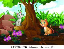 Cat tree Clipart Vector Graphics. 3,785 cat tree EPS clip art.