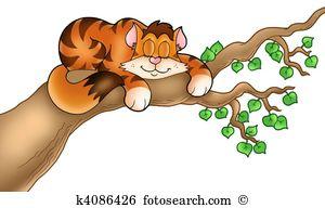 Sleeping cat Stock Illustrations. 259 sleeping cat clip art images.