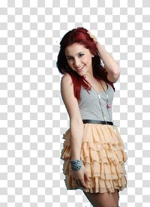 Ariana grande, Cat Valentine transparent background PNG clipart.