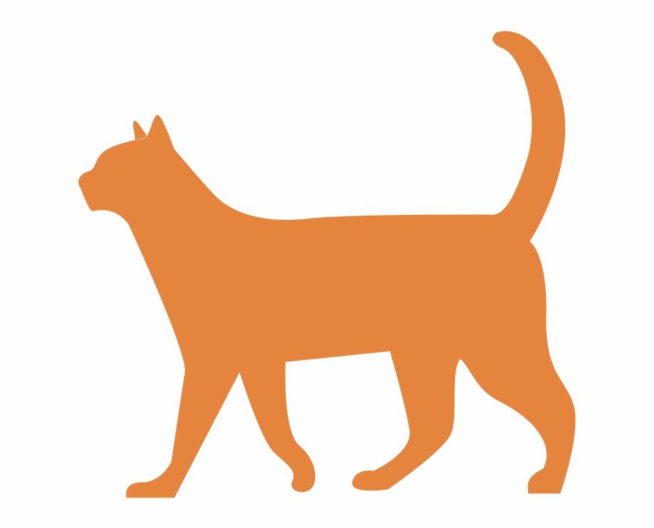 Free Cat Walking Silhouette, Download Free Clip Art, Free.