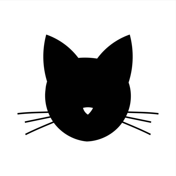 Best Cat Whiskers Illustrations, Royalty.