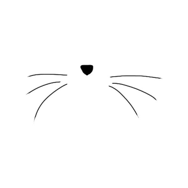 Cat whiskers clipart » Clipart Station.