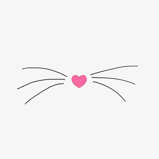 Cat whiskers clipart 1 » Clipart Station.