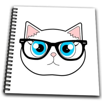 Cat With Glasses Clipart.