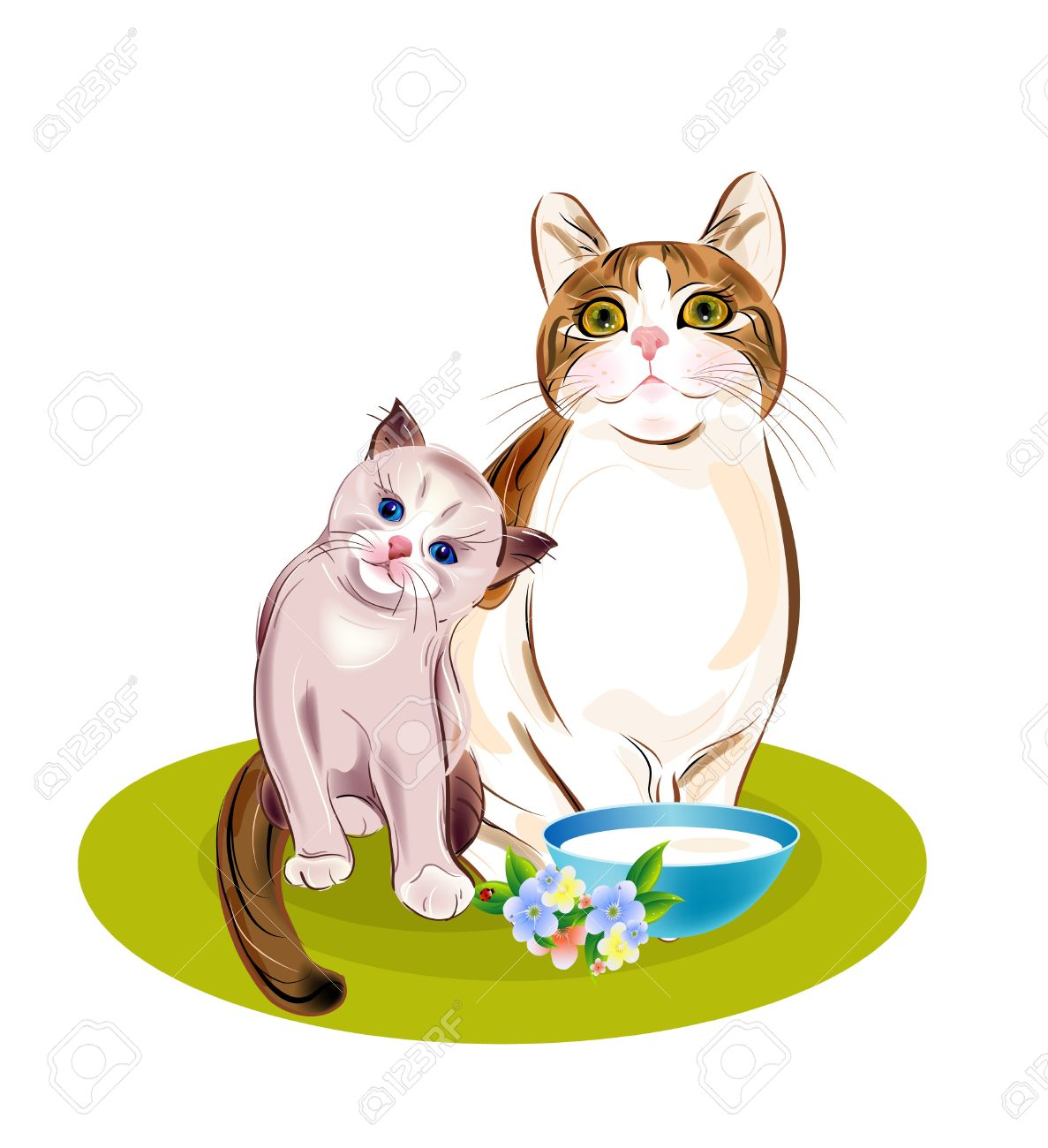 Free Clipart Kittens at GetDrawings.com.