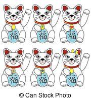 Lucky cat Vector Clipart Illustrations. 499 Lucky cat clip art.