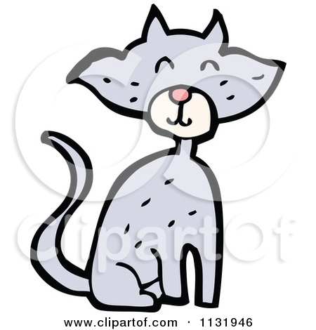 Royalty Free Stock Illustrations of Kitty Cats by lineartestpilot.