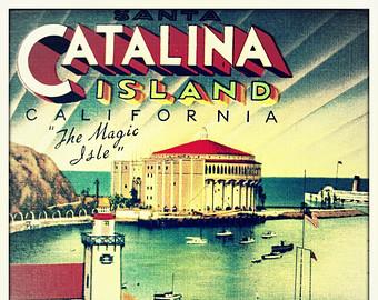 Catalina island clipart.