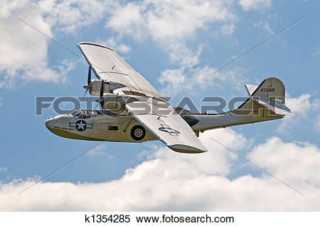 Stock Image of Consolidated PBY Catalina k1354285.