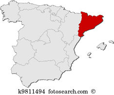 Map catalonia Clip Art and Illustration. 217 map catalonia clipart.
