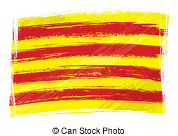Flag catalonia Clipart Vector and Illustration. 201 Flag catalonia.