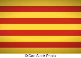 Flag catalonia Clipart Vector and Illustration. 201 Flag catalonia.