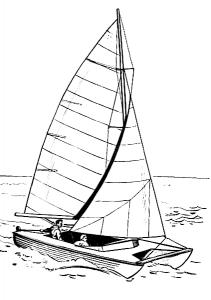 Catamaran Clip Art Download.