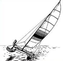 Free Catamaran Clipart.